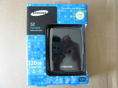 "SAMSUNG S2 Portable 320GB USB 2.0 2.5"" External Hard Drive"