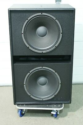 """EAW Eastern Acoustic Works BV253C/259x Subwoofer Dual 15"""""""
