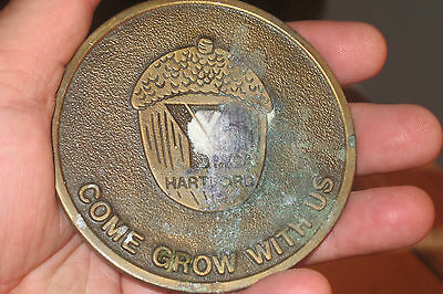 "Brass Or Bronze Medal Ymca Hartford Connecticut ""come Grow With Us"""