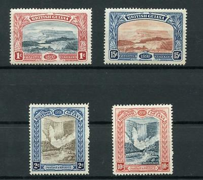British Guiana 1898 Jubilee short set to 15c SG216/21 (exc 5c) MM
