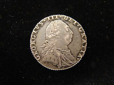 1787 GREAT BRITAIN SIX PENCE SILVER - XF  United Kingdom