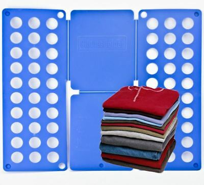 Magic Clothes Folder T Shirts Jumpers Organiser Easy Fold Laundry Adult Kids