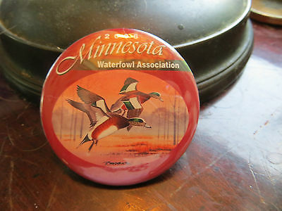2006 Minnesota Waterfowl Association button, advertising, club, ducks