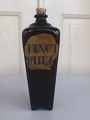 Holmegaard  Chemist bottle.1975-99. 23,5 cm tall.Limited issue.