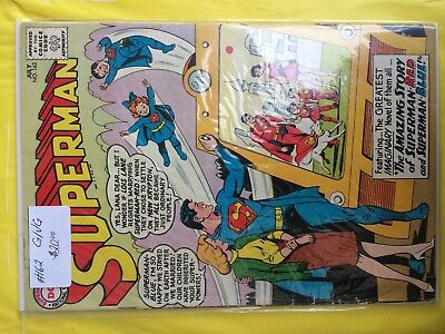 #162  Superman  G/vg   Sale 50% To 70% Discount