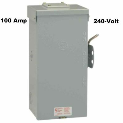 GE Non-Fused Emergency Power Transfer Switch 100 Amp 240-Volt Seismic Certified