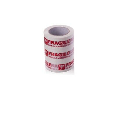 [wamami] 3 Rolls Of Sealing Tape Fragile Printing Strong Winding Tape More