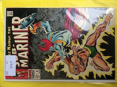 #4   Sub-Mariner   Vf    Sale 50% To 70% Discount