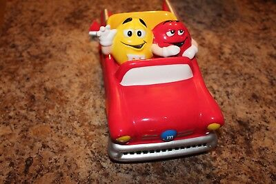M&M Red Convertable Red & Yellow Dudes Ceramic