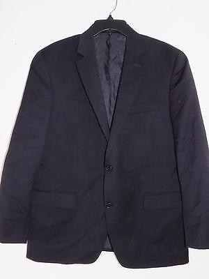 ST215 Michael Kors Men's Black Dress Blazer 100% Wool NWOT Size 44Reg MSRP $400