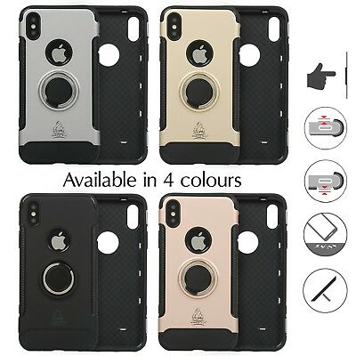 Gorilla Armour Back Case Shockproof Quality Best Protective Cover 360 Ring Tough