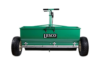 Lesco Drop Spreader Stainless Steel Bottom - Capacity approx 120 Lbs.