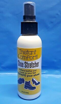 Instant Comfort SHOE STRETCHER for Leather & Suede Shoes 4 fl oz