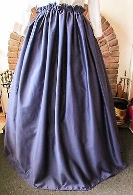 Ladies Victorian Style Skirt Dickensian Gentry Carol Costume New Civil War New