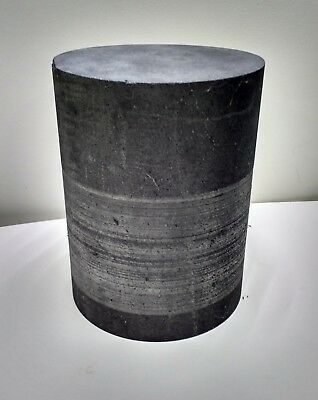 "Big Graphite Cylinder Rod, 6"" diameter x 8"" long"