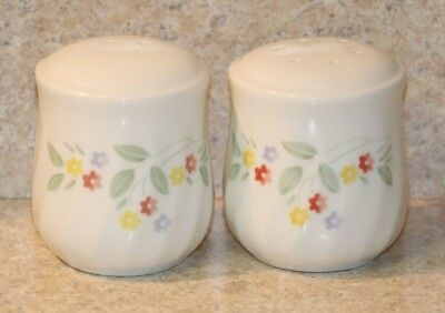 Corelle Corning ENGLISH MEADOW Salt and Pepper Shaker Set Excellent Flowers