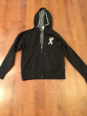Rare New Jameson Caskmates Charcoal Gray Women's Size Small Zipper Hoodie F/S