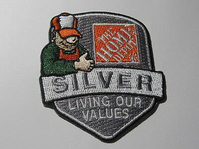 home depot collectibles living our values silver patch