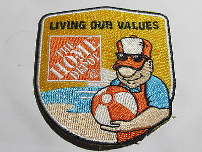home depot collectibles seasonal homer award patch