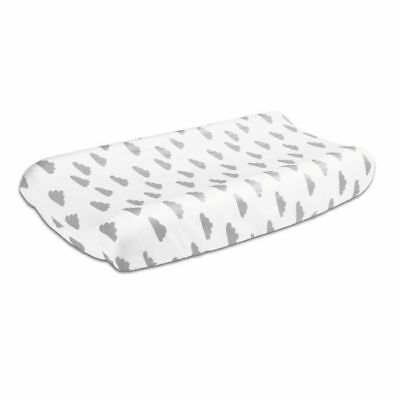 Peanut Shell Changing Pad Mat Cover Grey Clouds