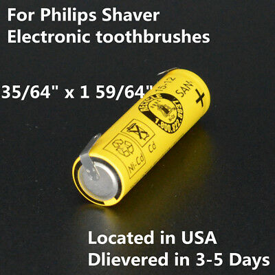 Replacement battery 1.2V NI-CD 14x48mm for Philips Shavers Electric tooth Brush