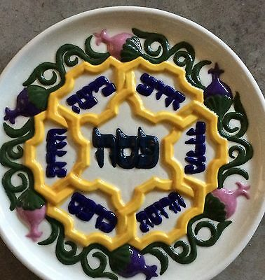 Judaic Platter For The Holiday
