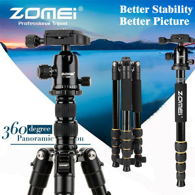 ZOMEI Professional Aluminium Tripod&Ball Head Travel for Canon Nikon Camera LOT