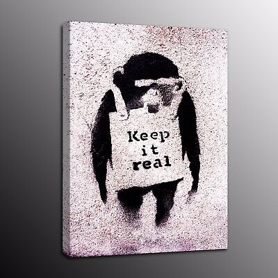Banksy Art Modern Canvas Prints Monkey Picture Street Art Wall Painting Poster