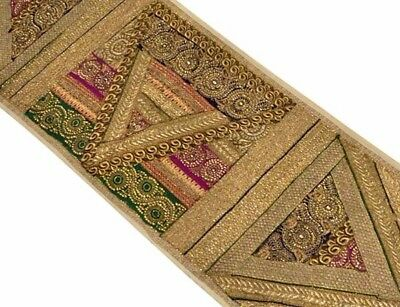 """60"""" Exquisite Home Décor Sari Beaded Sequin Wall Hanging Runner Tapestry Throw"""