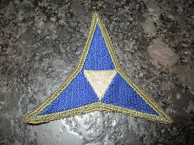 WWII US ARMY 3rd CORPS SHOULDER PATCH