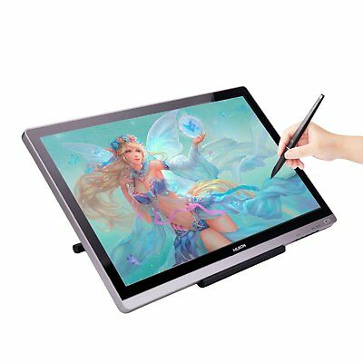 """Huion GT-220 V2 HD Graphic Art Drawing Tablet 21.5"""" IPS Panel Pen Display Glove"""