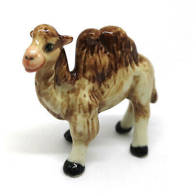 Handmade Miniature Craft Collectible Ceramic Mini CAMEL Figurine Animal Zoo