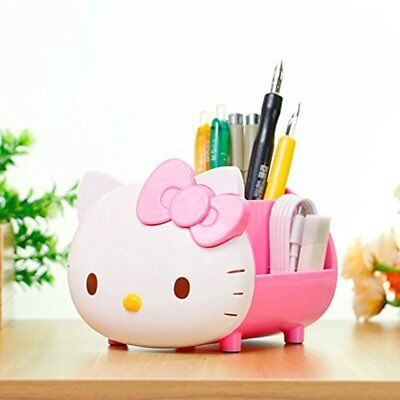 Pretty Multifunctional Pencil Holders Hello Kitty Desk Organizer Accessories