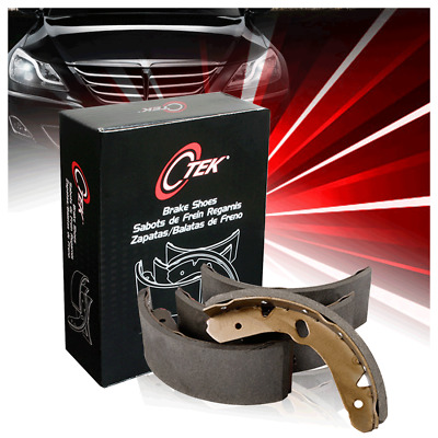 Centric Rear PB Parking Brake Shoes 1 Set For 2004 Ford E-350 Club Wagon