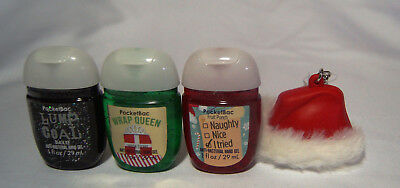 💚  Bath and Body Works Stocking Stuffers 3-Pack PocketBac & Holder   💚