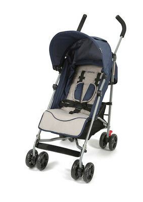 4Baby Breeze Layback Stroller - Navy/Stone
