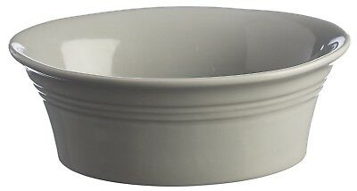 Mason Cash Oval Deep Pie Dish Roasting Dish, Medium 18cm Oven Dish GREY