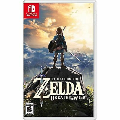 The Legend of Zelda: Breath of the Wild (Switch) Factory Sealed FREE Shipping!!!
