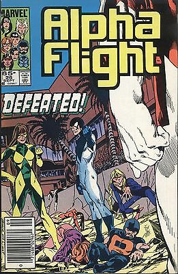 Marvel Alpha Flight 26 September 1985 Defeated