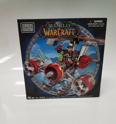 "World of Warcraft ""Flying Machine"" Mega Bloks OVP"