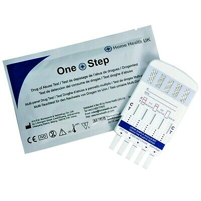 Drug Testing Kit - 5 in 1 Urine Test - Cocaine Cannabis Speed & More Home Tests