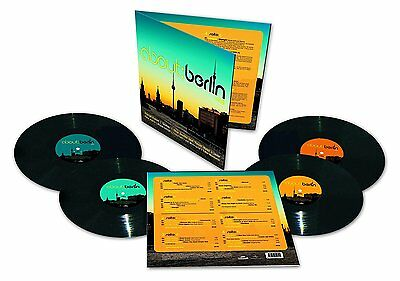 About: Berlin - Vol: 8 (4 VINYL LP ) LIMITED EDITION