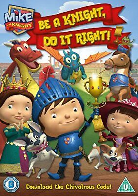 Mike The Knight - Be A Knight, Do It Right! [DVD] New Sealed UK Region 2
