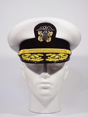 US Navy Officers Admirals visor cap NEW size 57 and 59 in stock