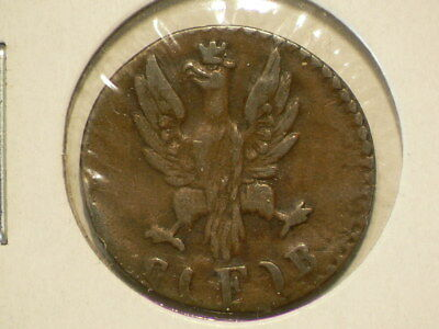 Germany Frankfurt 1824 Heller Copper KM#301  #G8668