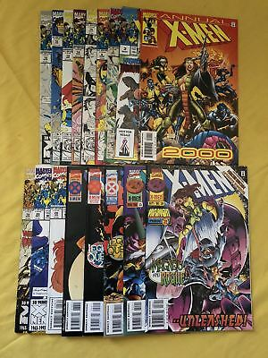 Lot of 17 X-Men (1991 1st Series) from #2-56 VF Very Fine
