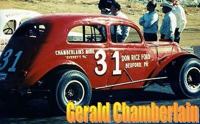 CD_415 #31 Gerald Chamberlain    1:24 Scale Decals
