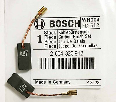 Genuine Bosch CARBON BRUSHES for GST 60 PBE GST 85 PBE GST 80 PBE Jigsaw S4A