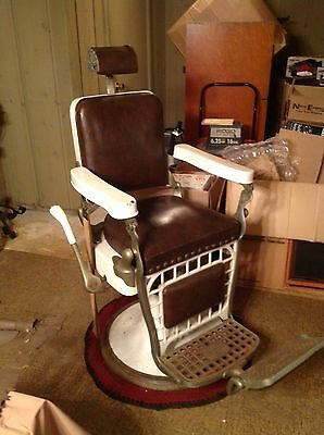 Emil J Paidar Vintage Barber Chair  Local Pick up Only