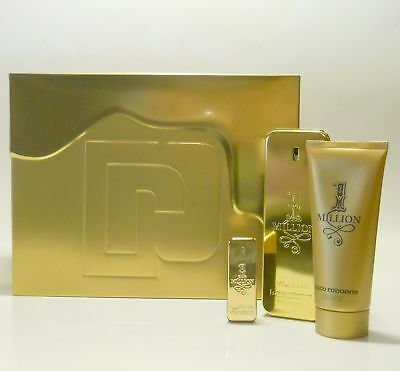Paco Rabanne One Million 1 Million - Set: Eau de Toilette 100 ml + Zugaben